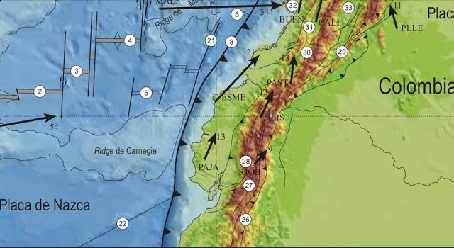 Ecuador Está Asentado Sobre Tres Sistemas De Fallas Geológicas
